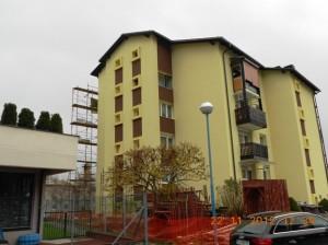 nadzor obnove fasade večstanovanjskega objekta