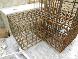 Gradbeni nadzor gradnje objekta pregled armature točkovnih temeljev